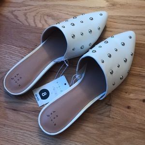 NWT A new day target studded mules *read